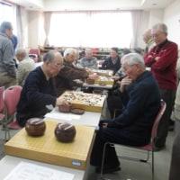 盛会の自治会の囲碁大会