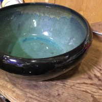 中古睡蓮鉢