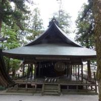諏訪大社・上社(6月13日)