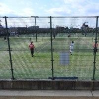 ソフトテニス部、加賀地区強化練習会に参加