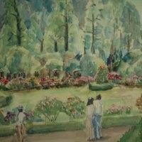 御苑フランス庭園