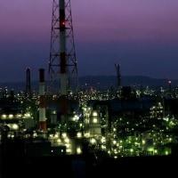 水島工業地帯夜景 in 岡山・倉敷
