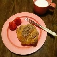 四年越しの恋(笑)で朝食を