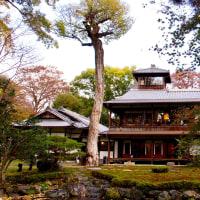旧三井家下鴨別邸秋の特別公開と閑院宮邸跡