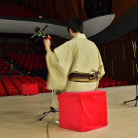 舞台練習風景 (くれ絆ホール)