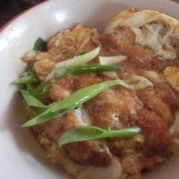 サンフランシスコの堂島庵でかつ丼を食べました。 東洋医師の継続学習の日