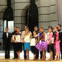プロフェッショナルラテン決勝4位・・・日本インターナショナルダンス選手権大会 出場権獲得