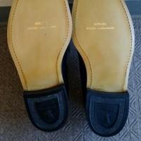 リーガルの靴の修理完了