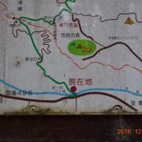 別ルートで宇津峰山へ