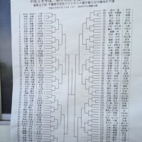 伊藤杯 イン中台  2016年5月14日