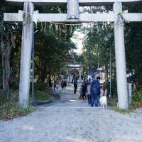月読神社へ初詣