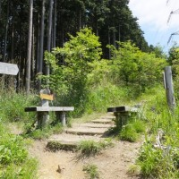 ダイヤモンドトレイル、紀泉山脈を歩く  滝畑ダムから岩湧山経由紀見峠まで新緑の道を歩く 2017年5月28日 その1