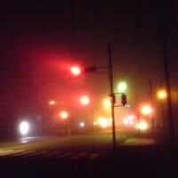 真夜中の霧