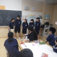 岸 博幸先生、楢葉中学校に来たる!4