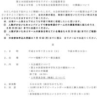29年度中学生県大会監督者会
