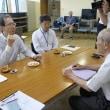 福島県知事が南会津町が来訪・南会津町役場の【危機管理の対応・能力】2017・7・12