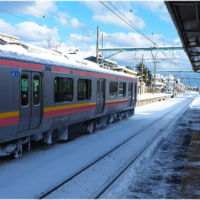 JR越後線はこの程度の雪で運休騒ぎ!