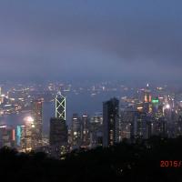 香港から戻りました