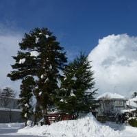 冬の晴れ間