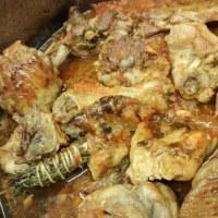 鶏肉の猟師風煮込み(Pollo alla cacciatota)