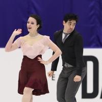 NHK杯2016・アイスダンス、カッペリーニ &ラノッテのチャップリンメドレー
