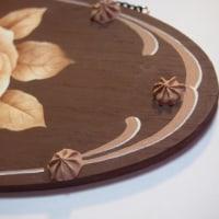 初描きは・・・チョコレートのバラ♪(^_^A。。。