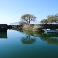 船だまり(滋賀県琵琶湖畔)