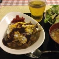 男の夜ご飯