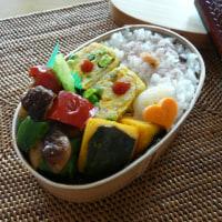 お弁当(ホタテバーグ・彩り野菜添え)