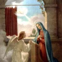 聖母マリアの御告げの大祝日 Frestum Annuntiationis B. Mariae V.