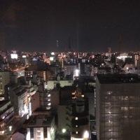 今はまだ、名古屋出張。