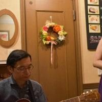 2ヶ月ぶりのライブ@オレンジハウスでした~♪