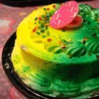 緑色のケーキ♪