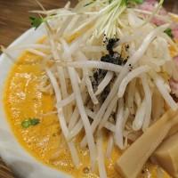麺作 赤シャモジさん 特製濃熟らーめん大盛り 醤油&辛味噌