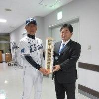 市長会の取材 と 埼玉西武ライオンズ出陣式