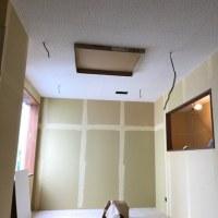 安曇川レポート6 ~天井がつきました~
