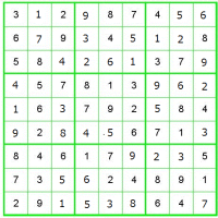 数独、悪戦苦闘(2)解法1