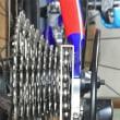 ロードバイク編 シフトチェンジワイヤが伸びるとガチャガチャ音がしてシフトチェンジが上手くいかなくなる
