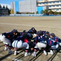 11月3日 多賀城レインボーズカップ新人戦