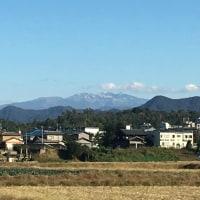 2016 白山連邦に初冠雪 (^◇^)