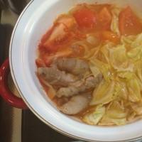 ひとりトマト鍋