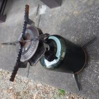 ガスカートリッジホルダー(三脚)を修理した