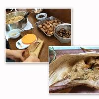 台湾料理部第22回 ☆台湾チマキ・緑豆入りココナッツミルク☆