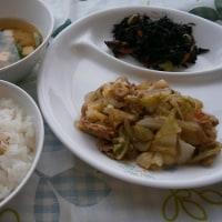 豚肉のソース野菜炒め