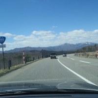 花見と残雪ドライブ(堀川親水公園・田子倉湖・鶴ヶ城)