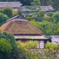 奈良市 大平尾の茅葺き民家
