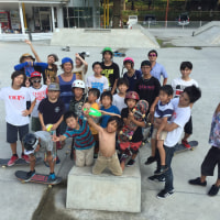 2015 iS OLLiES skateboard camp in TOKUSHIMA��ݡ���