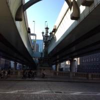 東海道中膝車 ーー 日本橋 ーー
