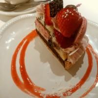 アフターでケーキ。