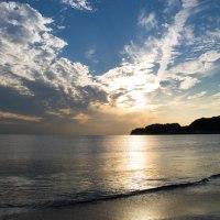 Twilight Beach  材木座海岸